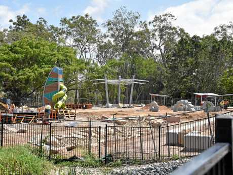 Lions Park at Kin Kora is currently undergoing a $3.3 million redevelopment as a part of the Queensland Government's Works For Queensland initiative. Work is scheduled to be finished by November 30, 2017.