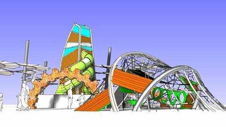 UNIQUE: The concept plans for the redevelopment of Lions Park.