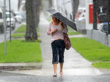 After a long dry spell it was time to dust off those umbrellas last week as Rockhampton enjoyed a good soaking rain.
