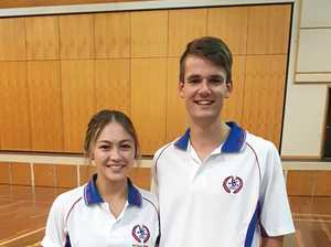 Captains from Warwick High honoured this week