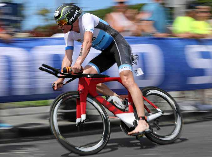 BOUND FOR THE BIG STAGE: David Dellow is set to compete at the Ironman World Championships in Hawaii.