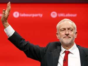Corbyn's up as PM May sinks fast