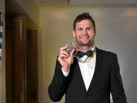 Paul Broughton Medal winner Anthony Don.