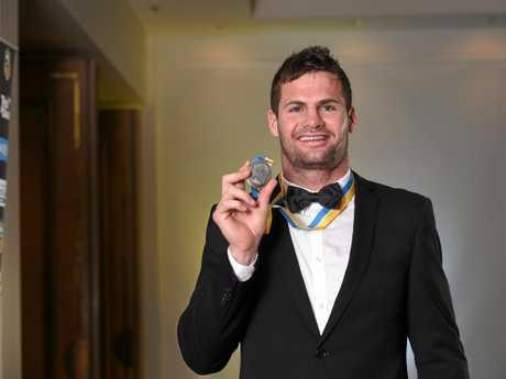 Paul Broughton Medal winner Anthony Don.