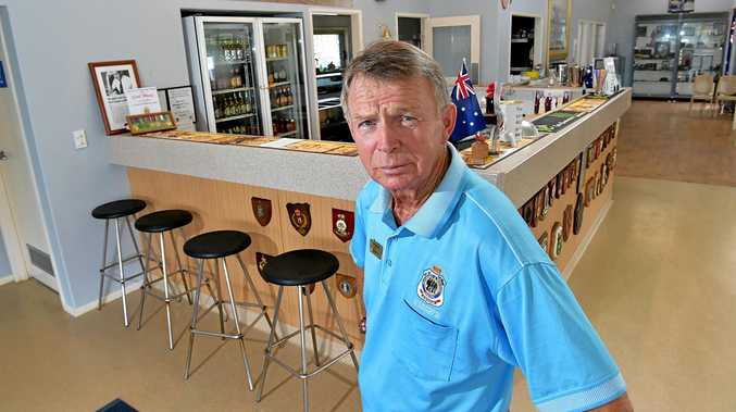 DOING IT TOUGH: Joe Daenens wants residents to support the Coolum-Peregian RSL Club so it can keep providing important services.