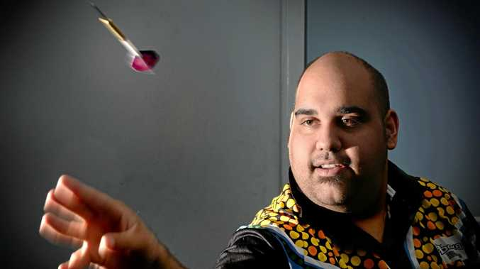 BULLSEYE: Kyle Anderson will play in the Pro Darts Showdown Series.