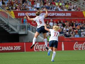 Women score an equal pay goal