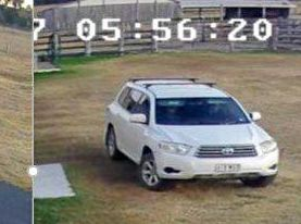 APPEAL: Police are seeking information on this vehicle seen at a Rosewood property on September 9.