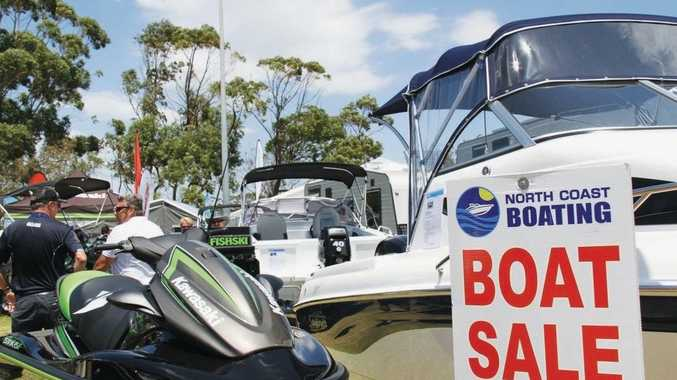 A boat prize package is up for grabs at this weekend's Sunshine Coast Expo.