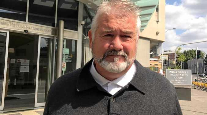 Ipswich City Council contractor Wayne Francis Innes, from an earlier court appearance.