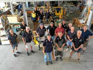 Tools down: men's shed opens