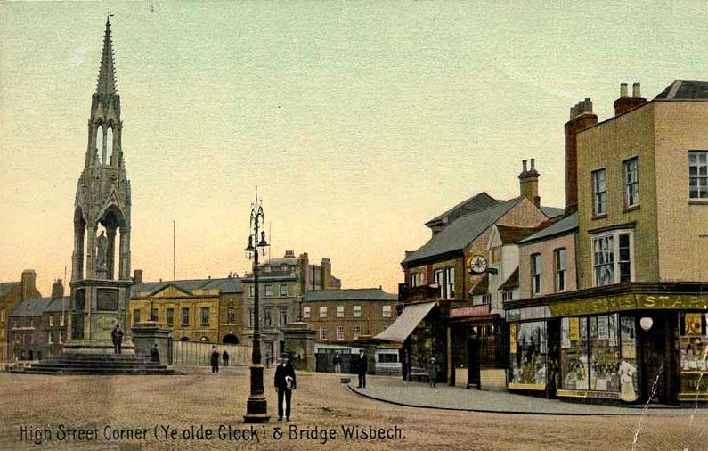 An old postcard from the town Mary Harwood went missing.