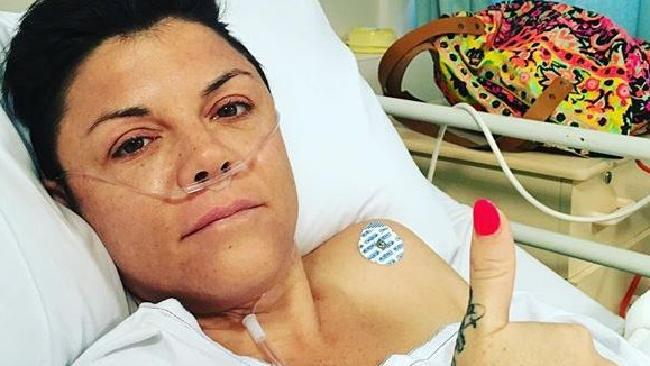 On New Year's Day 2016 radio presenter and comedian, Em Rusciano, was rushed to hospital with a burst appendix. Source: InstagramSource:Instagram