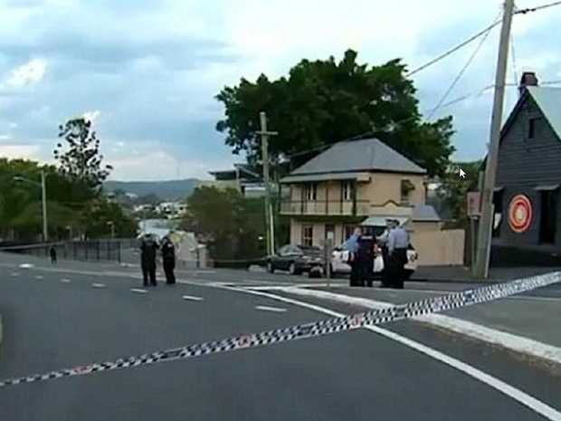 The scene of the backpacker's stabbing death last Thursday. Picture: Channel 9