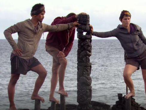 The final immunity challenge on Australian Survivor.