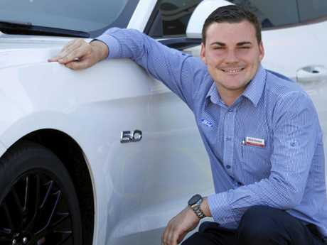 Pacific Ford Maroochydore sales manager Alister Eiseman said Sunshine Coast sales reflected the national popularity of Mustang, with the sports car the second most popular Ford behind the Ranger.