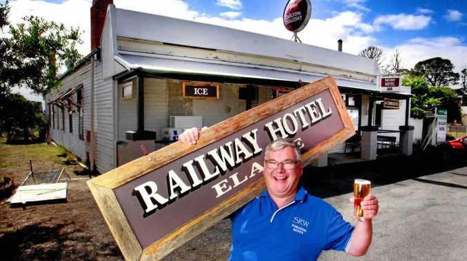 ON TOUR: Railway author Scott Whitaker takes his job seriously.