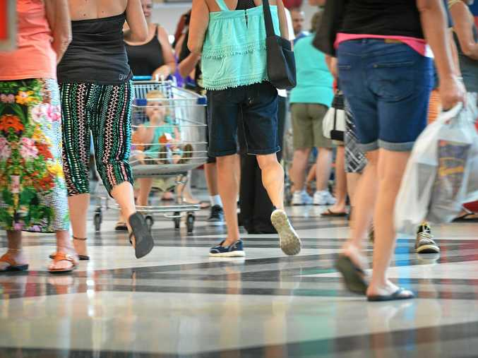 ECONOMY BOOST: Rockhampton retail jobs have increased by 600 jobs since 2013.