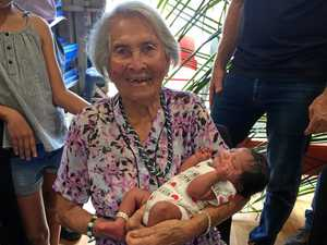 Nolear welcomes 48th great great grandchild on 100th birthday