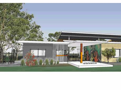 Concept design of the proposed Jarjum preschool in Goonellabah.