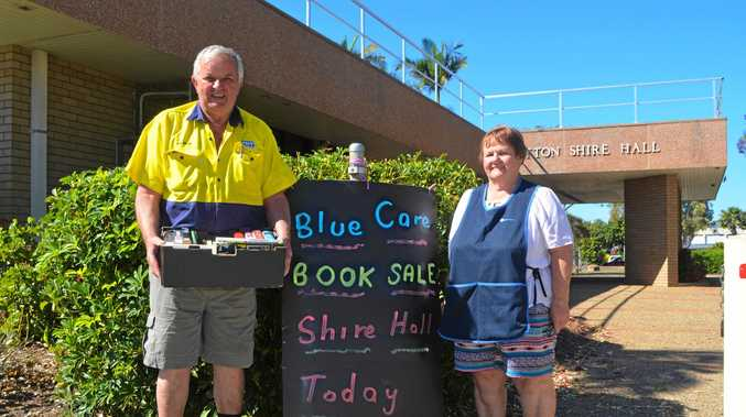 HELP NEEDED: Are you free to help the Blue Care team put on the next book sale?