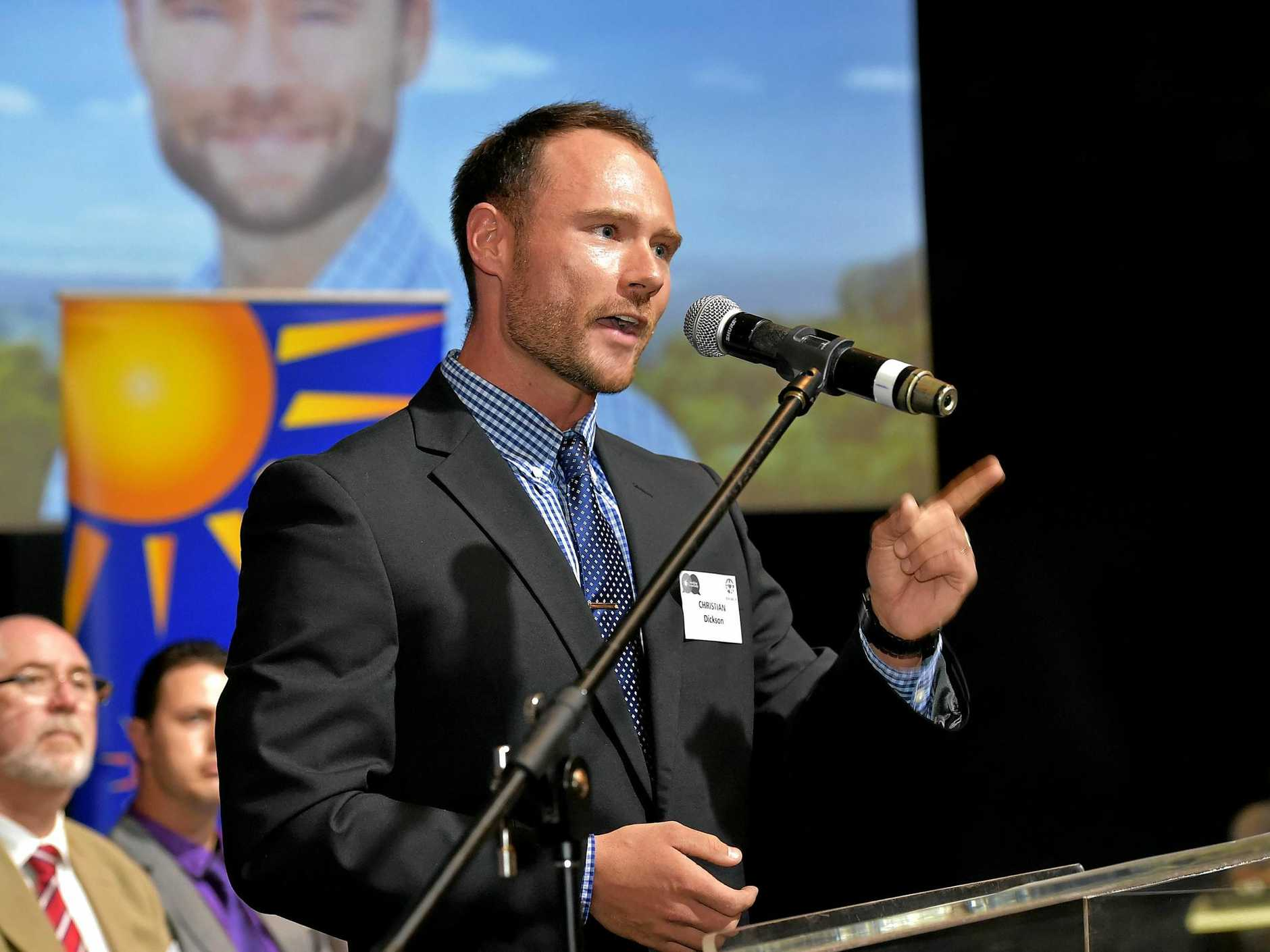 Sunshine Coast Election for Division 6 and 7. Christian Dickson for Division 6. Photo: Warren Lynam / Sunshine Coast Daily