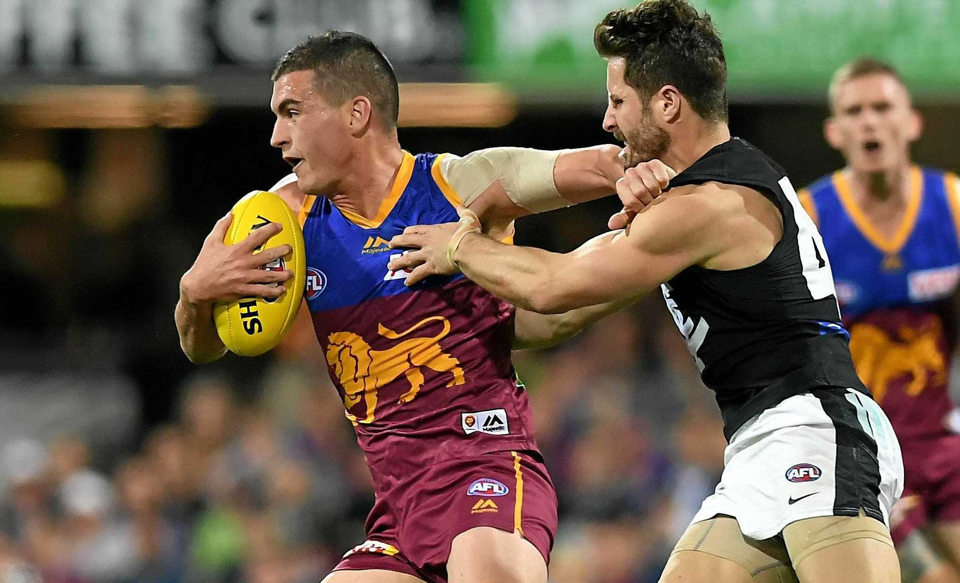 Port Adelaide is close to snaring Tom Rockliff from Brisbane