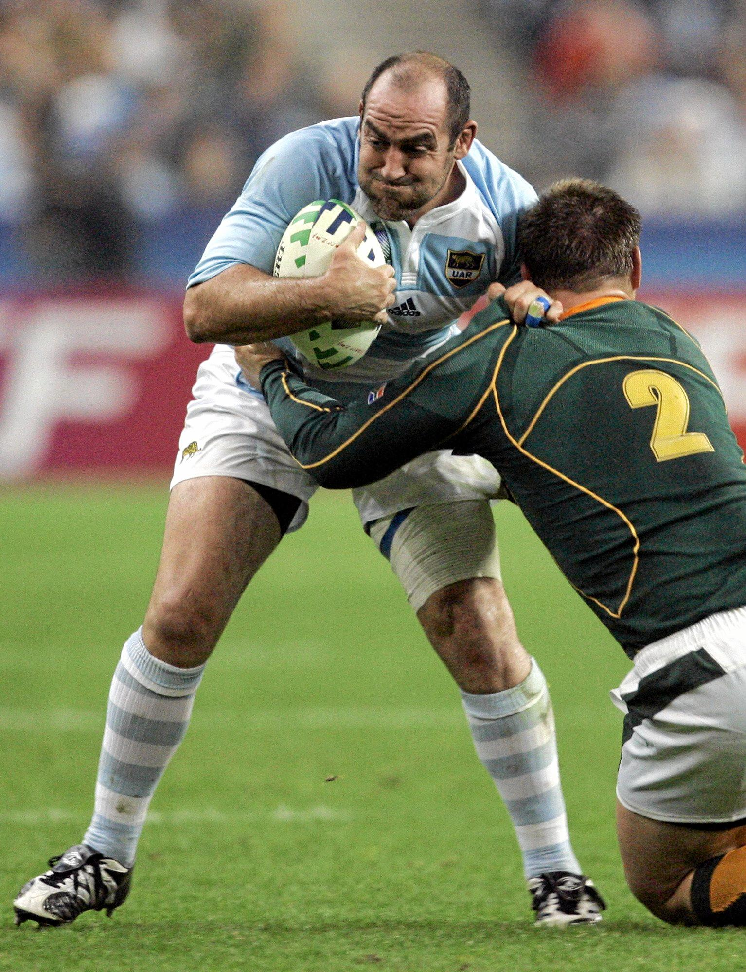Australia's scrum coach Mario Ledesma is heading back to Argentina