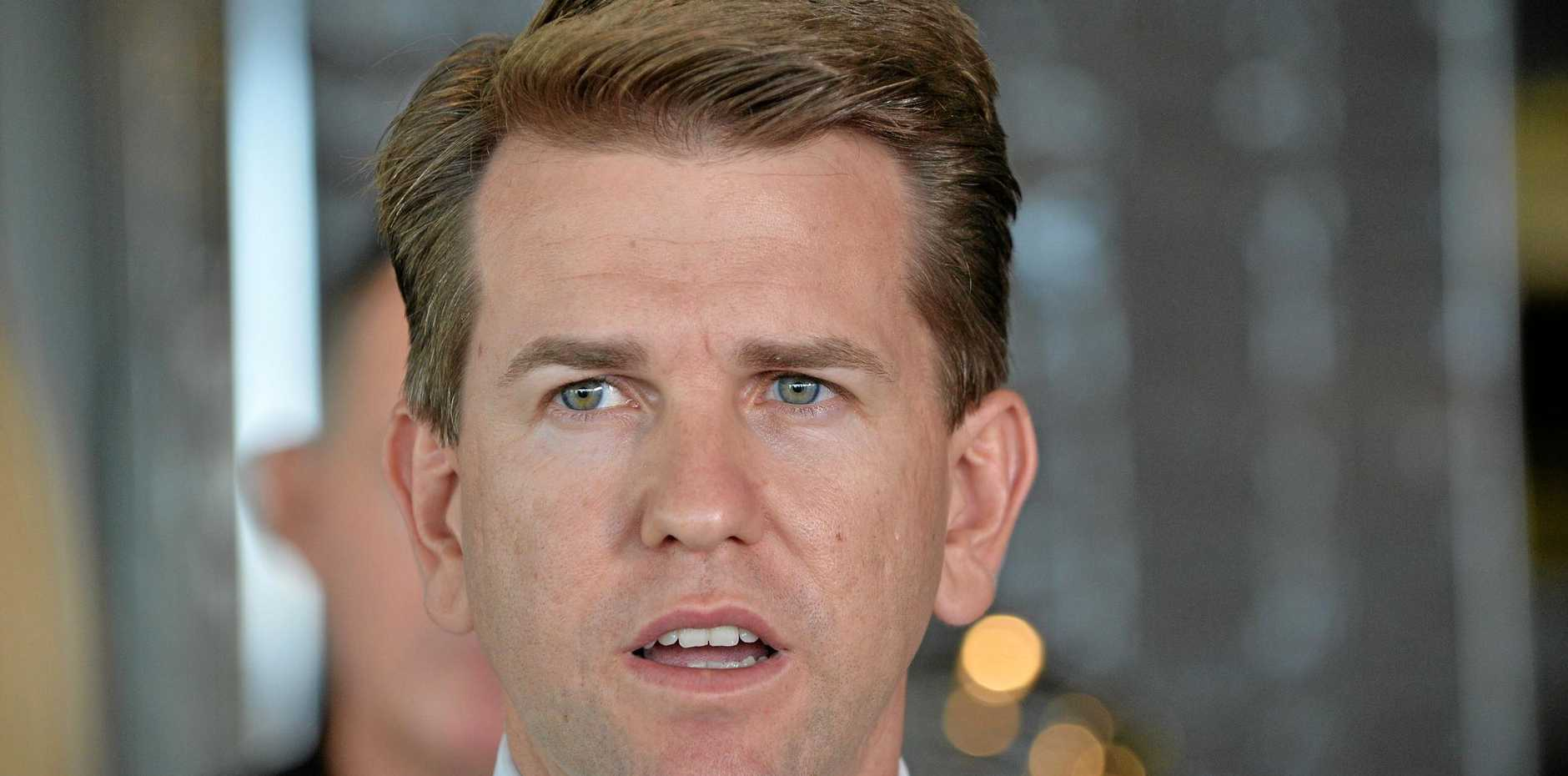 KAWANA MP Jarrod Bleijie says Labor took a $33,500 developer donation on the same day the Premier backed a ban from that source.