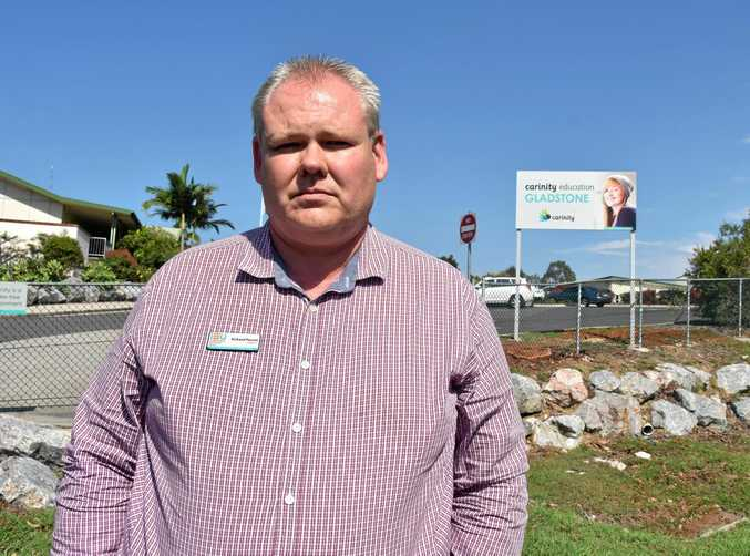 UNION VOTE: Independent Education Union central Queensland organiser Richard Pascoe.