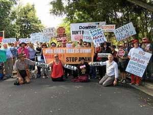 Anti-coal protest may delay Lismore council's flood repairs