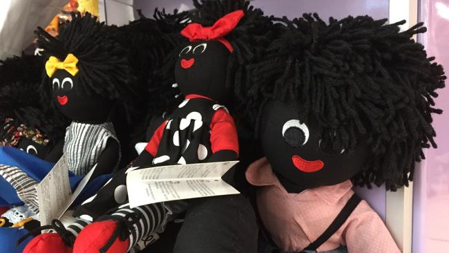 The dolls for sale at Candy Time at Westfield Carindale.