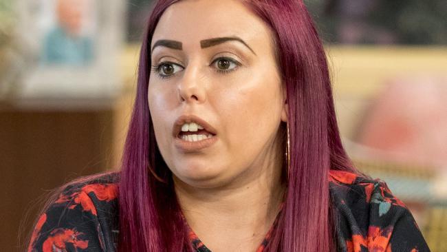 Sophie Stevenson said she had been left