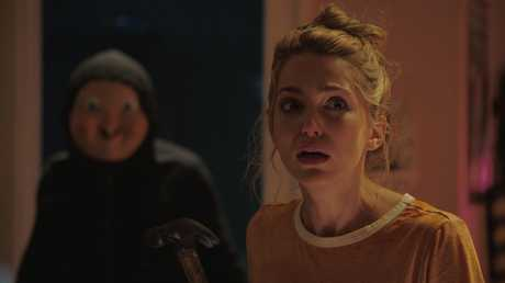 Jessica Rothe in a scene from Happy Death Day.