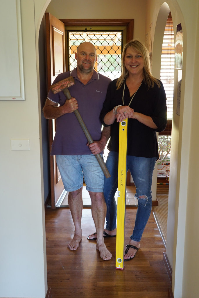 Chris and Rob Cook of Alstonville have just quit thier day jobs to renovate and sell houses full-time.