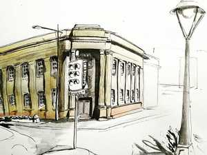 Get your Toowoomba home sketched by urban artist
