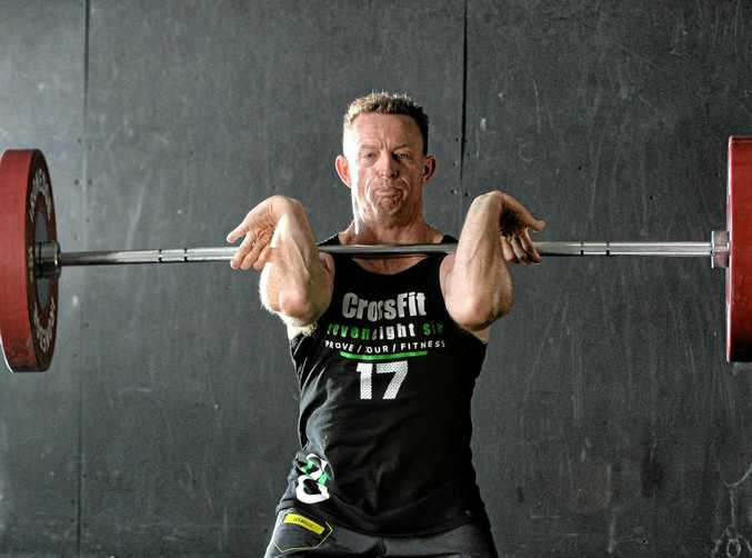 QUEENSLAND'S BEST: Crossfit competitor Pete Gow will represent Queensland and Australia at Runaway Bay Sports Centre on the Gold Coast.