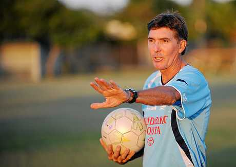 Steve Bates, who in 2010 was the first coach for Bundaberg Spirit's under-19s team.