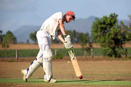 Ricky Parslow managed 76 not out against the Militia on Saturday at the Kelsey Creek cricket ground on Saturday.