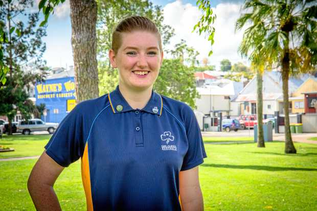 BIG JOB: Soon to be Commonwealth Games volunteer Breeann O'Donnell is looking forward to the exciting challenge.