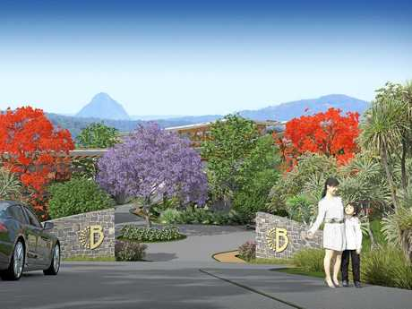 PLANS: The proposed $95 million Badderam project.