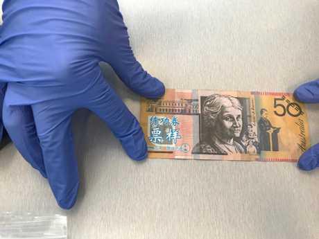 FAKE FIFTIES: Counterfeit money (file photo).