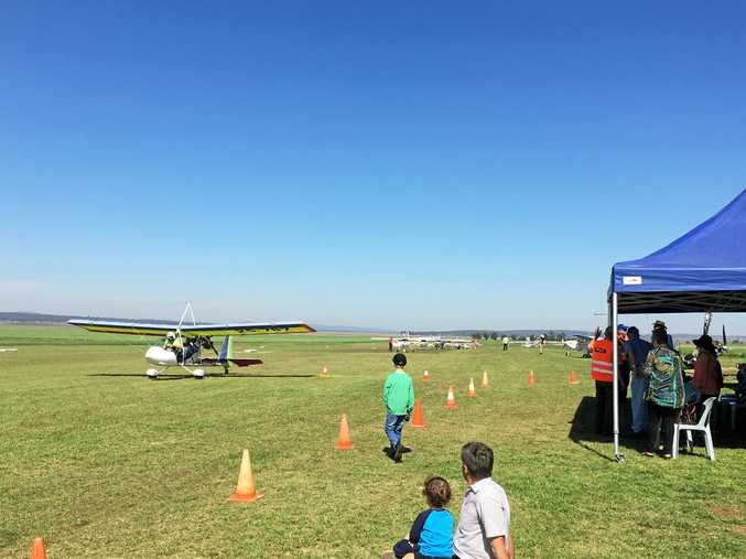 Lone Eagle Flying School is hosting its second open day.