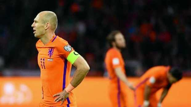 Arjen Robben has retired from international football