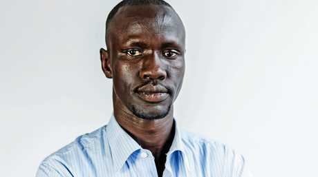 FEVER PITCH: Visiting author and 2017 NSW Australian of the Year Deng Thiak Adut will take to the soccer field in Lismore as a special guest player in the 10th annual African All Stars vs Lismore Legends soccer match on Thursday, 12 October.
