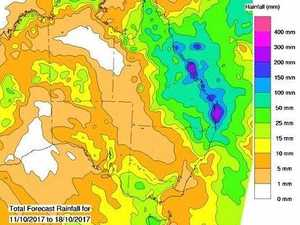 Rain 'a double-edged sword' as forecast rises to 400mm+