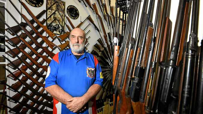 DEBATE: Firearm Owners Association of Australia president Ron Owen.