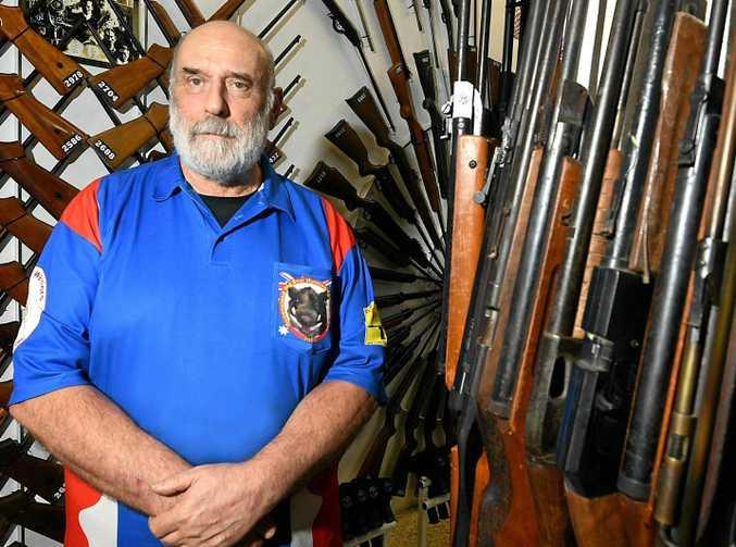 DEBATE: Firearm Owners Association of Australia president Ron Owen.