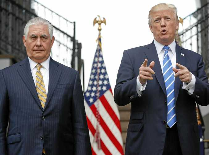 Secretary of State Rex Tillerson and President Donald Trump are focused on the administration's agenda, White House spokeswoman Sarah Huckabee Sanders insists.