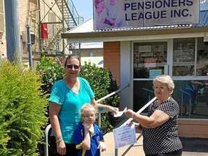 Pensioners dig deep to help students get a bus